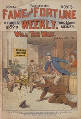 """Will the waif, or, From bootblack to merchant"" in Fame and fortune weekly, no. 293"
