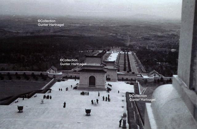 Nanjing, Mausoleum of Dr. Sun Yat-sen, view