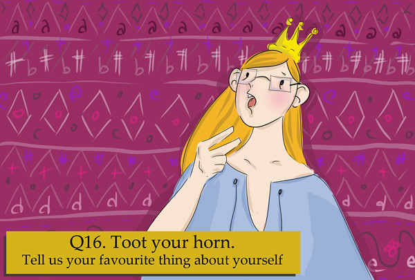 Toot your own horn! What do you like about yourself?