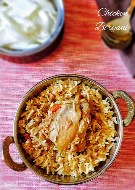 Easy Chicken Biryani Recipe for Toddlers and Kids