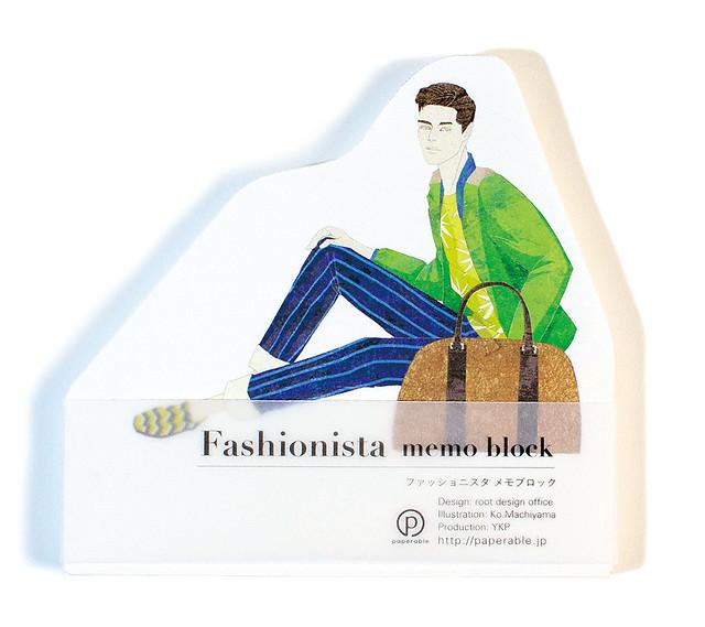 Fashionista memo block/ファッショニスタ メモブロック