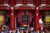 Kaminarimon gate to Sensō-ji, Asakusa, Tokyo