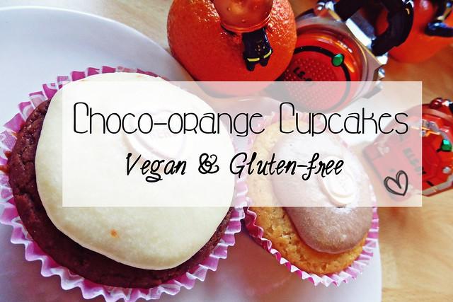 Choco-orange Cupcakes (Vegan & Gluten-free)