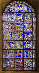 Canterbury Cathedral window n.XV