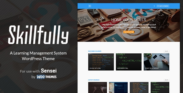 Skillfully v2.0.3 - A Learning Management System Theme