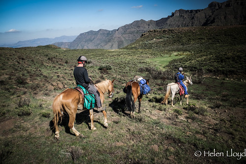 Beautiful Scenery in Lesotho