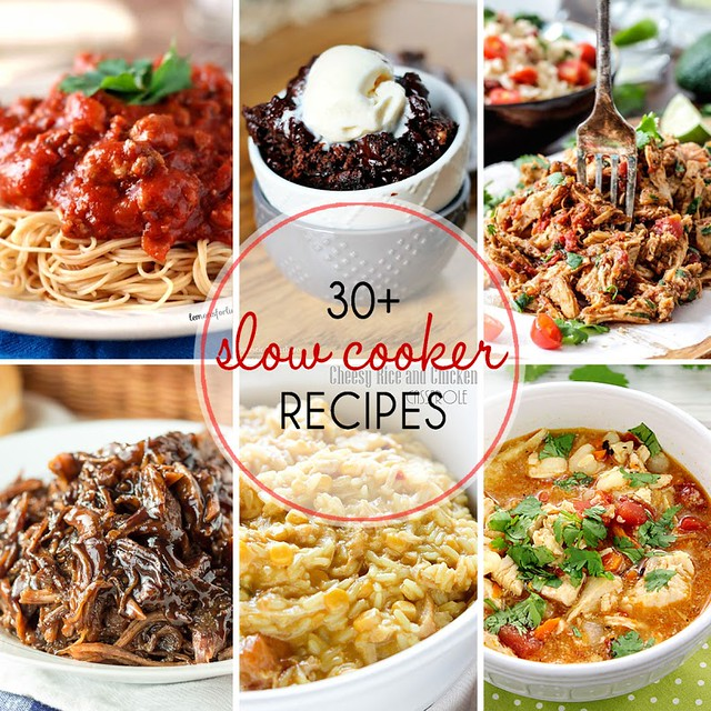 30+ Slow Cooker Recipes from your favorite bloggers!