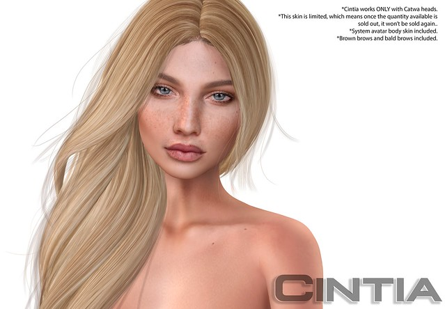 Cintia Skin for Catwa for Whimsical Event NOW!