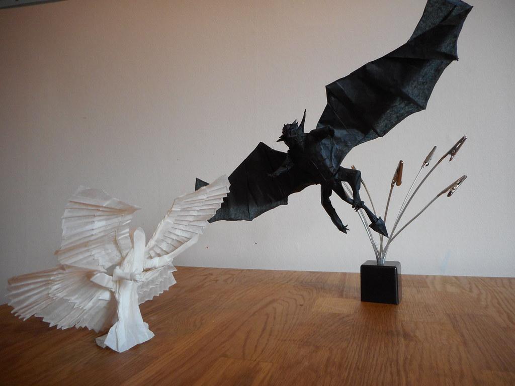 Bart Davidss Most Interesting Flickr Photos Picssr Origami Angel Diagrams And Demon