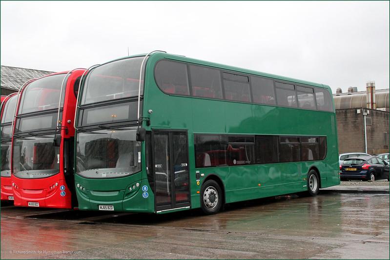 Plymouth Citybus 537 WJ65BZD