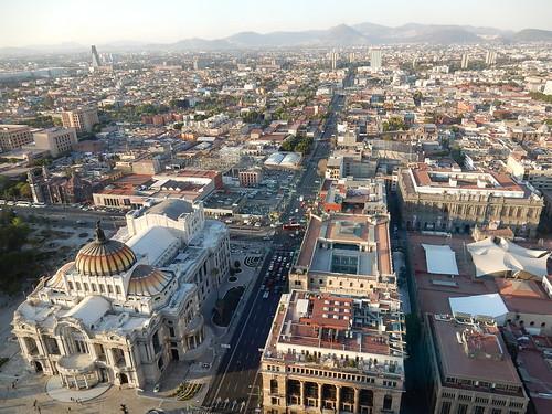Mexico - Ciudad Mexico - vanaf Torre Latinoamericana - 1
