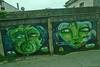 Valparaiso - Street art green