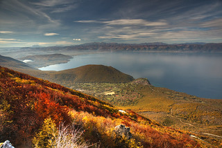 Ohrid Lake Panorama