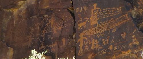 stone mystery rural utah historic nativeamerican highdesert rockart petroglyphs ninemilecanyon