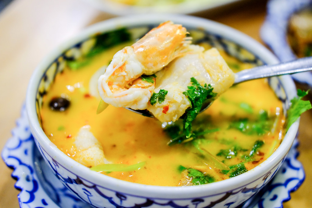 Nangfa Thai Kitchen's tom yam soup