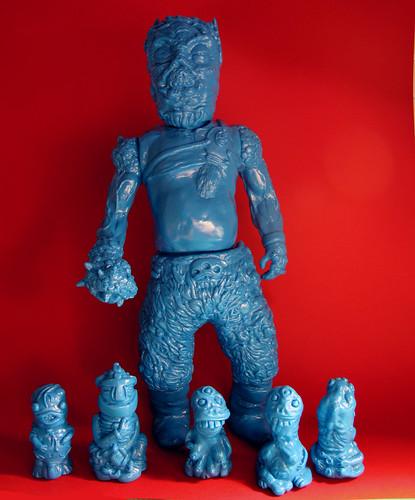 Kanzler Arschloch blue