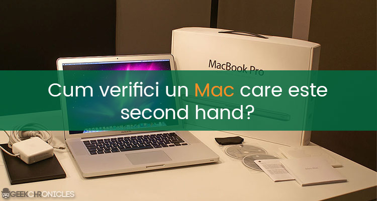 Cum verifici un Macbook
