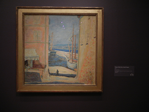 Pierre Bonnard, Legion of Honor, SF - View of the Port, Saint-Tropez _ 1891