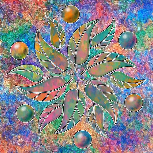 Mandala collage