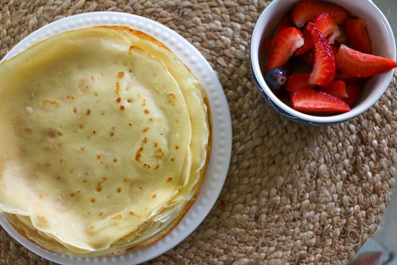03.12. Strawberry Lemon Ricotta Crepes