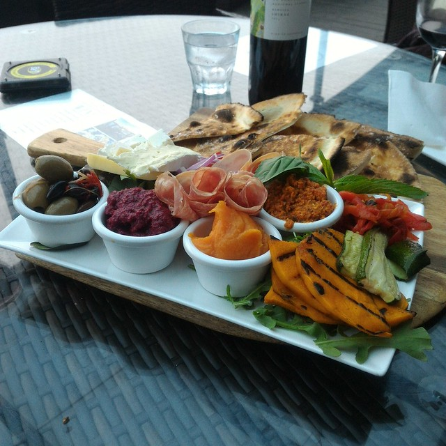 the caost bar antipasto platter