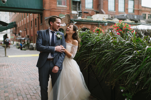 Celine Kim Photography AM Airship 37 distillery district romantic summer wedding-85
