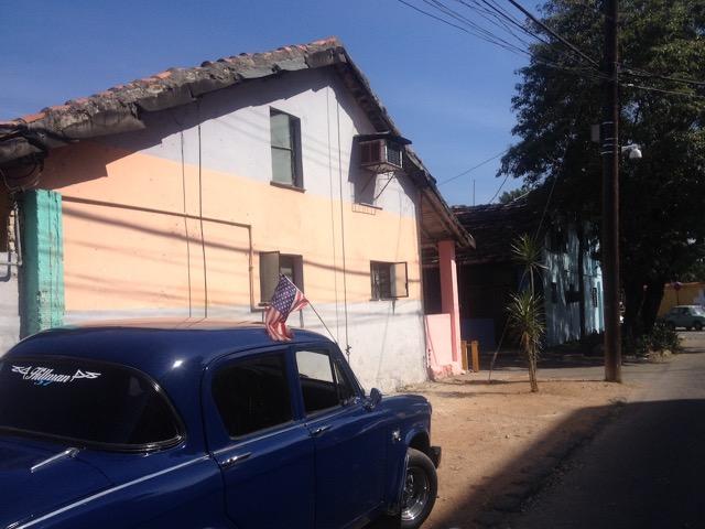 #Cuba La misma bandera que hasta hace poco estaba estigmatizada... #ObamaCuba