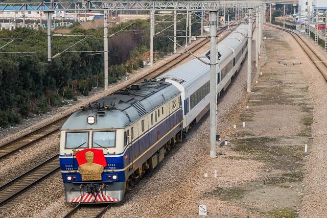 告别芦列 · Farewell Shanghai-Luchaogang Train