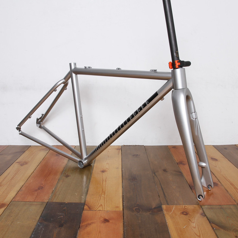 Tonic Fabrication Frame & Enve Fork Repaint By Swamp Things