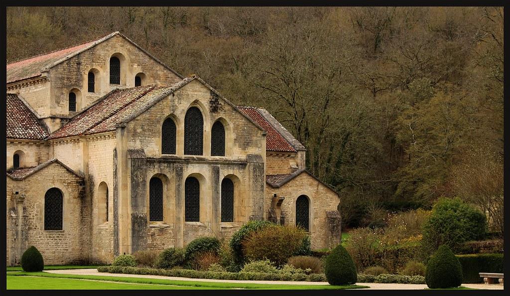 Abbaye De Fontenay Bernardus Van Clairvaux The Oldest Pres