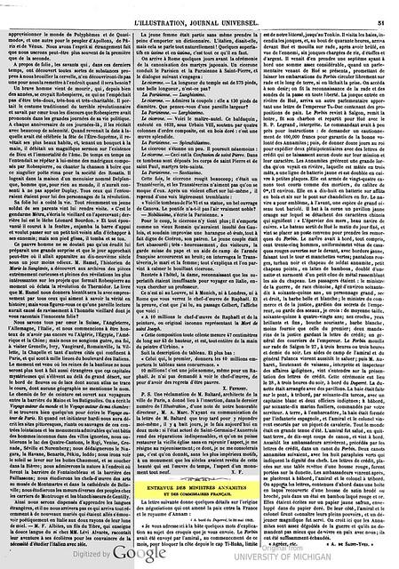 ILLUSTRATION 26-7-1862 (2) Entrevue des ministres annamites et des commissaires français.