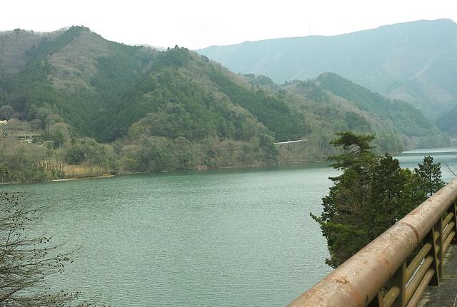 滝畑ダム湖