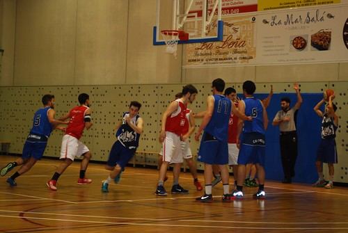 Resultado de imagen de sènior Club bàsquet Cubelles