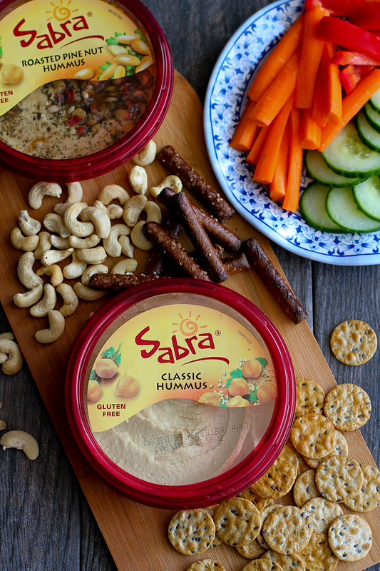 Hummus with Pesto and Pickled Celery…You may never go back to plain hummus again! 73 calories and 2 Weight Watchers Freestyle SP