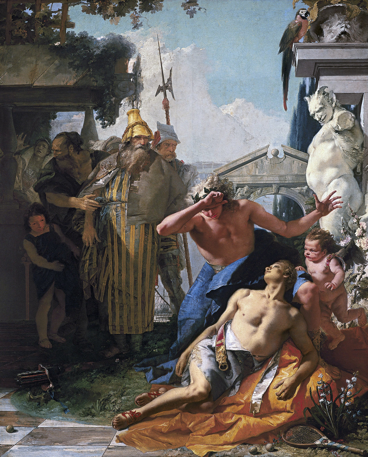 The Death of Hyacinth by Giovanni Battista Tiepolo, 1753