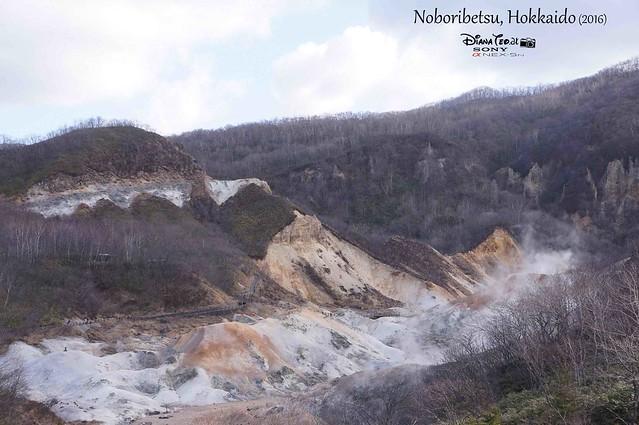 2016 Japan, Hokkaido Noboribetsu Hell Valley