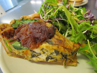 Vegan Quiche at Pearfect Pantry