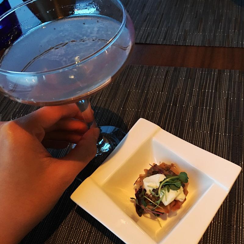 tart-appetizer-lavender-brown-cocktail-6