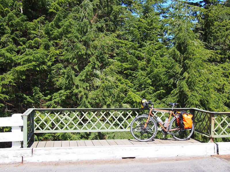 Toasty Tangerine on Fairfax Bridge