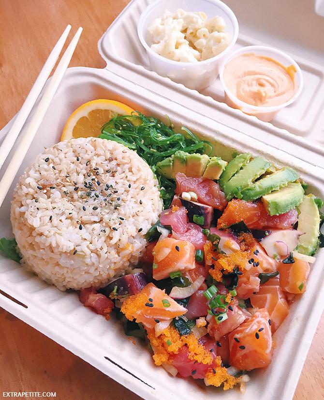 poke go bowl salmon tuna hilcrest san diego