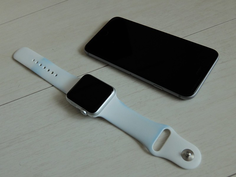 Apple Watch Sports with iPhone 6s