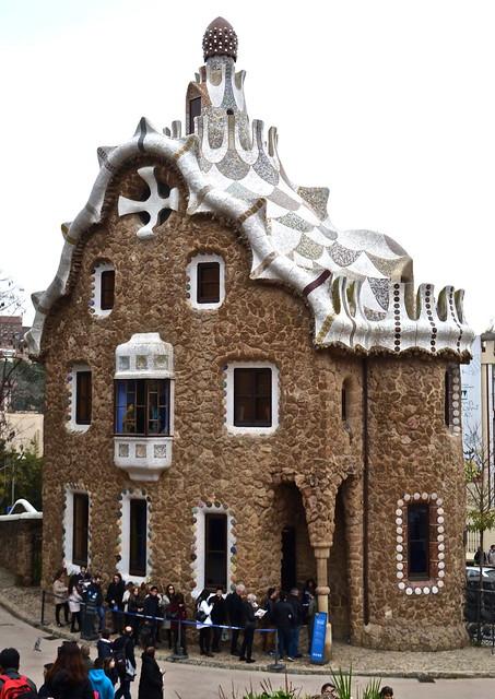 Guadi's house - Parc Güell