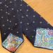 Handmade Tie using Purl Soho free pattern