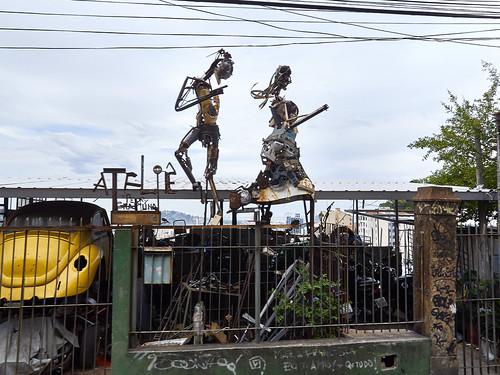 Atelier Pedro Grapiúna, Barrio Santa Teresa, Río de Janeiro, Brasil