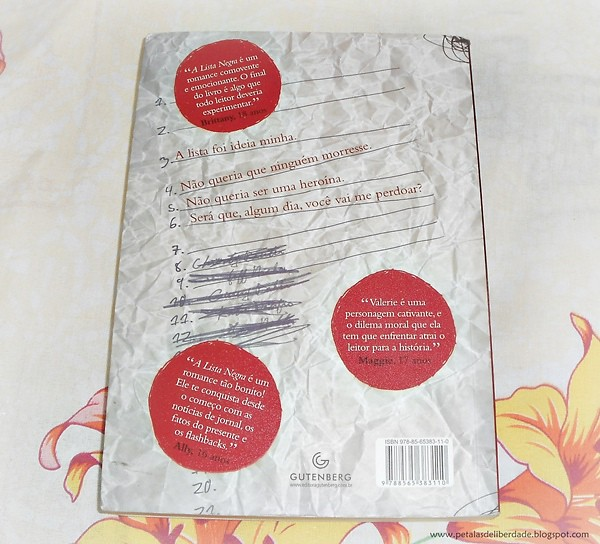 Resenha, livro, A Lista Negra, Jennifer Brown, Gutenberg, quotes, trechos, bullying, atentado, opiniões