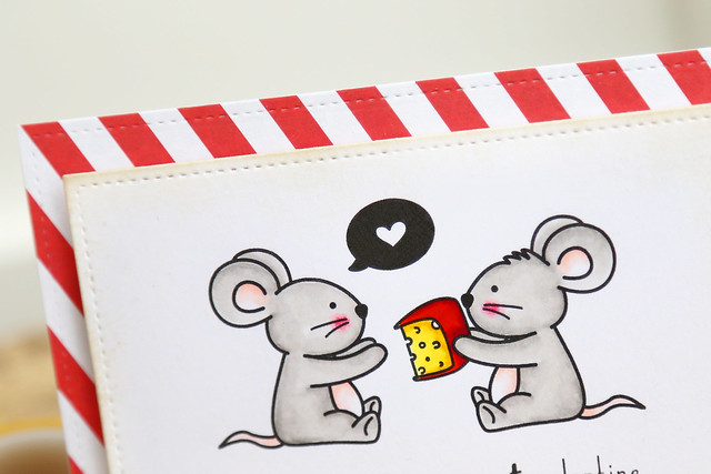 the cheesiest mice {justmedigitalstamps}