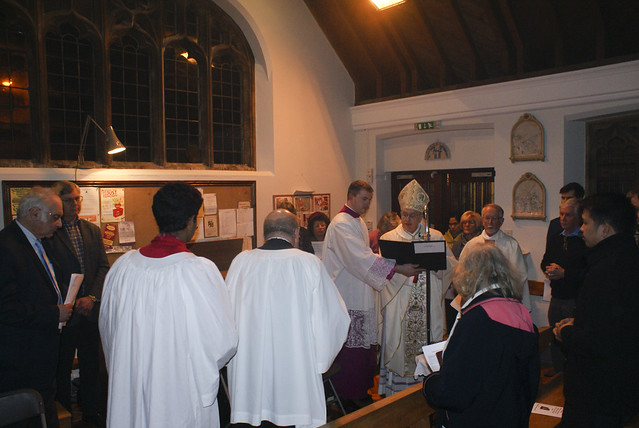 Blessing of the new organ - Our Lady of Refuge - Cromer