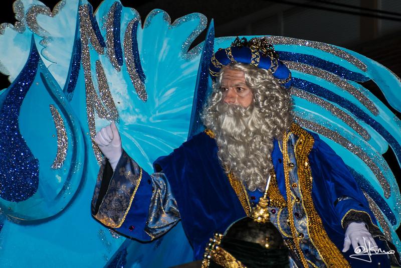 Rey Melchor, Cabalgata de Reyes Magos en Sant Joan Despí 2016