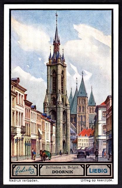Liebig Tradecard S1330 - Doornik (Tournai)