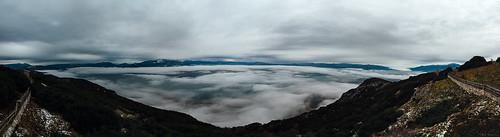panorama mountain snow fog clouds greece prosilio ελλάδα σύννεφα kozani ομίχλη κοζάνη aiani